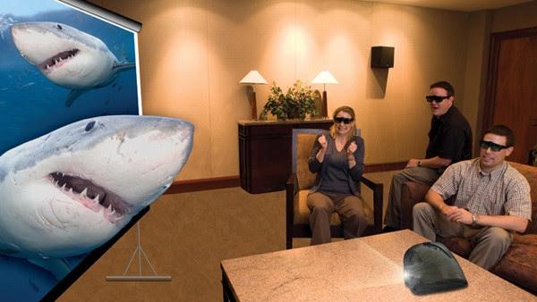 Máy chiếu 3D - Chân thực đến thót tim