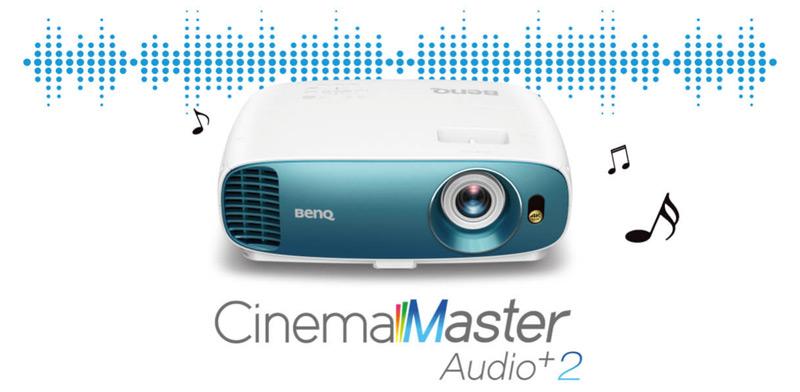 Âm thanh CinemaMaster + 2 cho âm thanh lớn