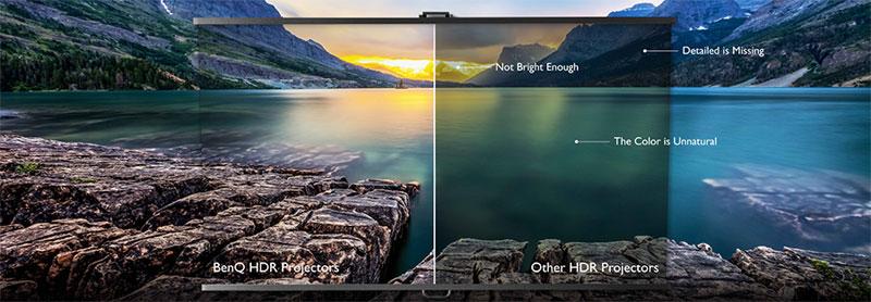 Chất lượng video siêu thực với HDR