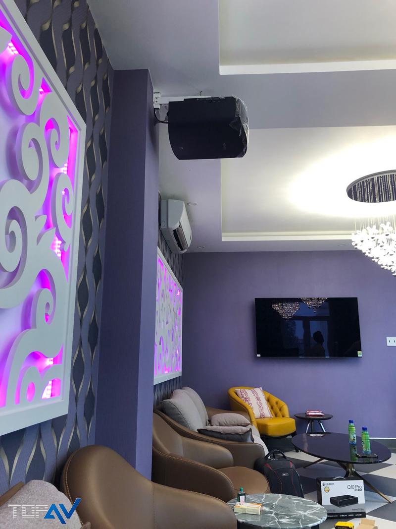 Dự Án Lắp Đặt Phòng Chiếu Phim Và Karaoke Cho Biệt Thự Tại Biên Hòa Đồng Nai