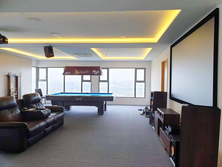 Dự Án Lắp Đặt Phòng Chiếu Phim Quận 7 Chung Cư Phenhous