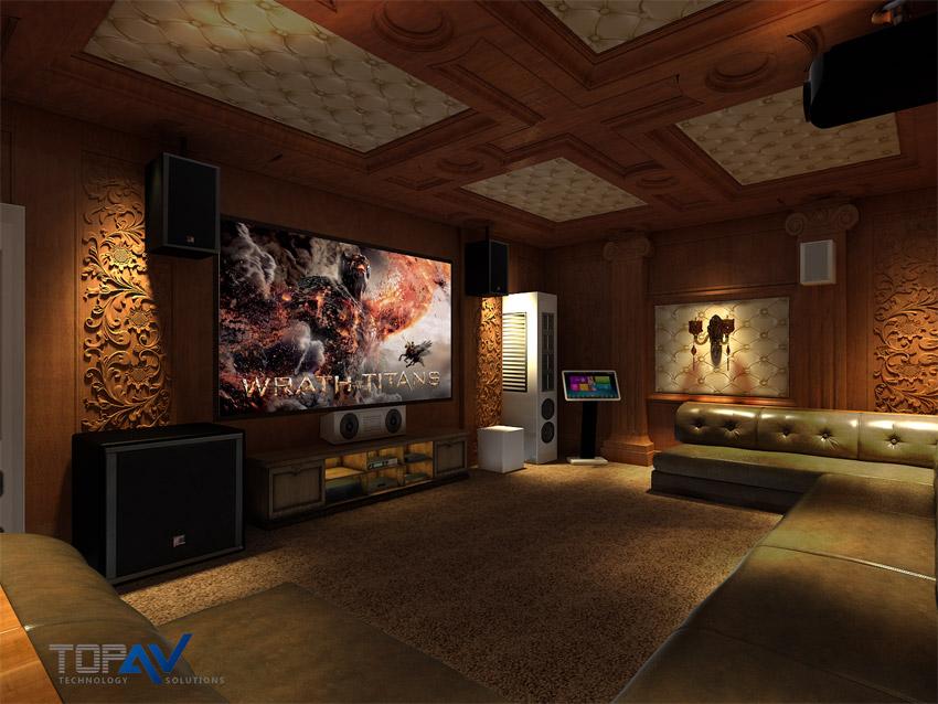 Lắp đặt phòng chiếu phim 3D gia đình