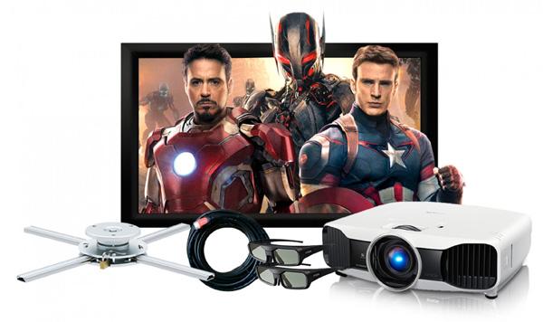 Máy chiếu Epson EH-TW8200 Full HD 1080P – 3D