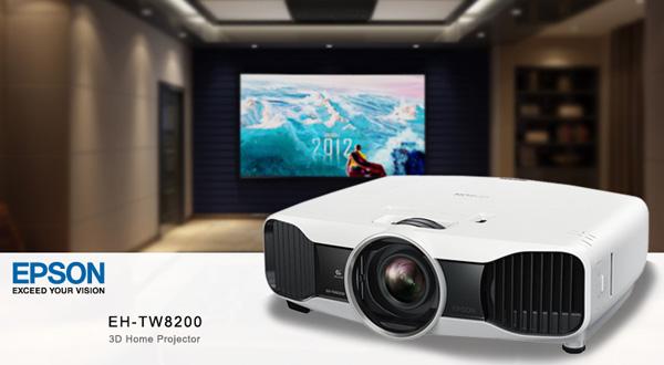 Epson EH-TW8200 mang sự đẳng cấp cho phòng chiếu phim của bạn