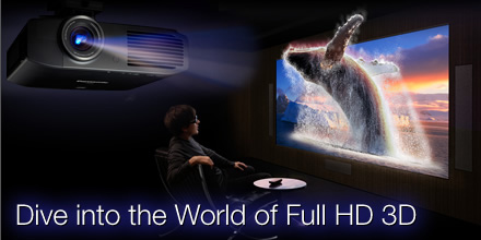 Máy chiếu Panasonic PT-AE8000 Full HD 1080P – 3D