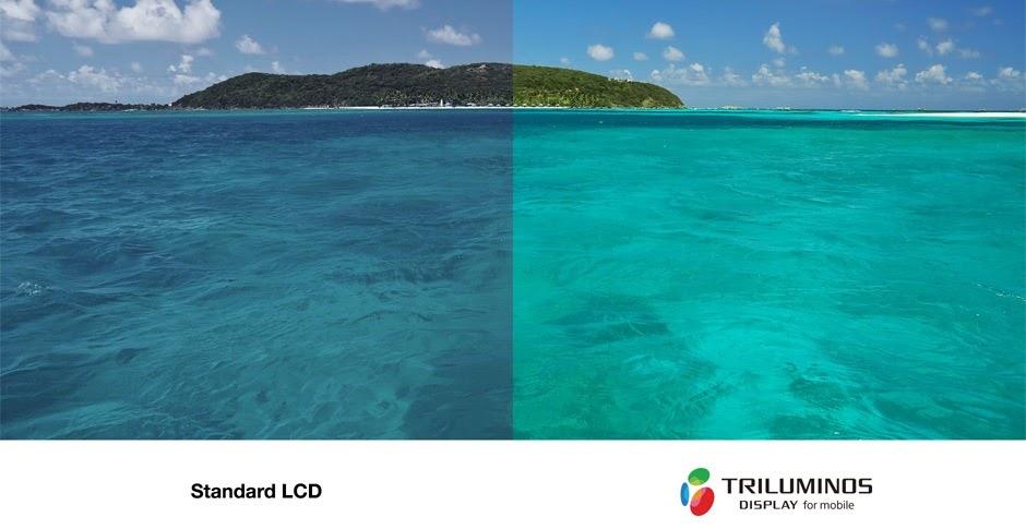 Công nghệ TRILUMINOS ™ hiển thị cho màu sắc rộng hơn, tự nhiên hơn