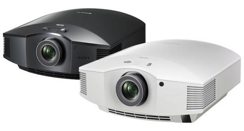 Máy chiếu Sony VPL HW65ES có sẵn hai màu đen và trắng