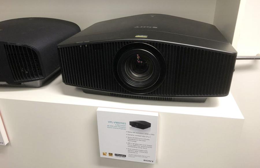 Máy chiếu 4K Sony VPL-VW870ES