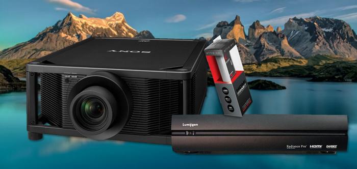 Sony VPL-VW5000ES sử dụng nguồn sáng laser hiệu suất cao 20.000 giờ