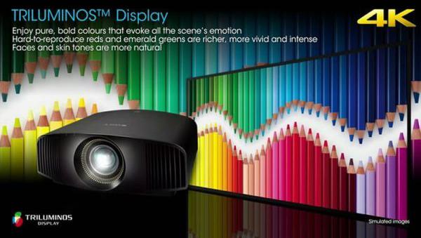 Máy Chiếu Sony VPL-VW300ES hình ảnh 4K – 3D