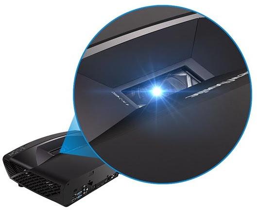 ViewSonic® Pro7827HD có độ sáng 2.200 lumens