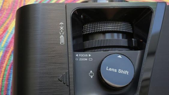 Ống kính máy chiếu có thể tùy chọn thay đổi